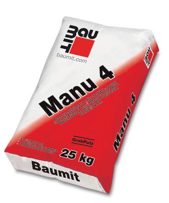 Baumit Manu 4 | GrobPutz 4 mm